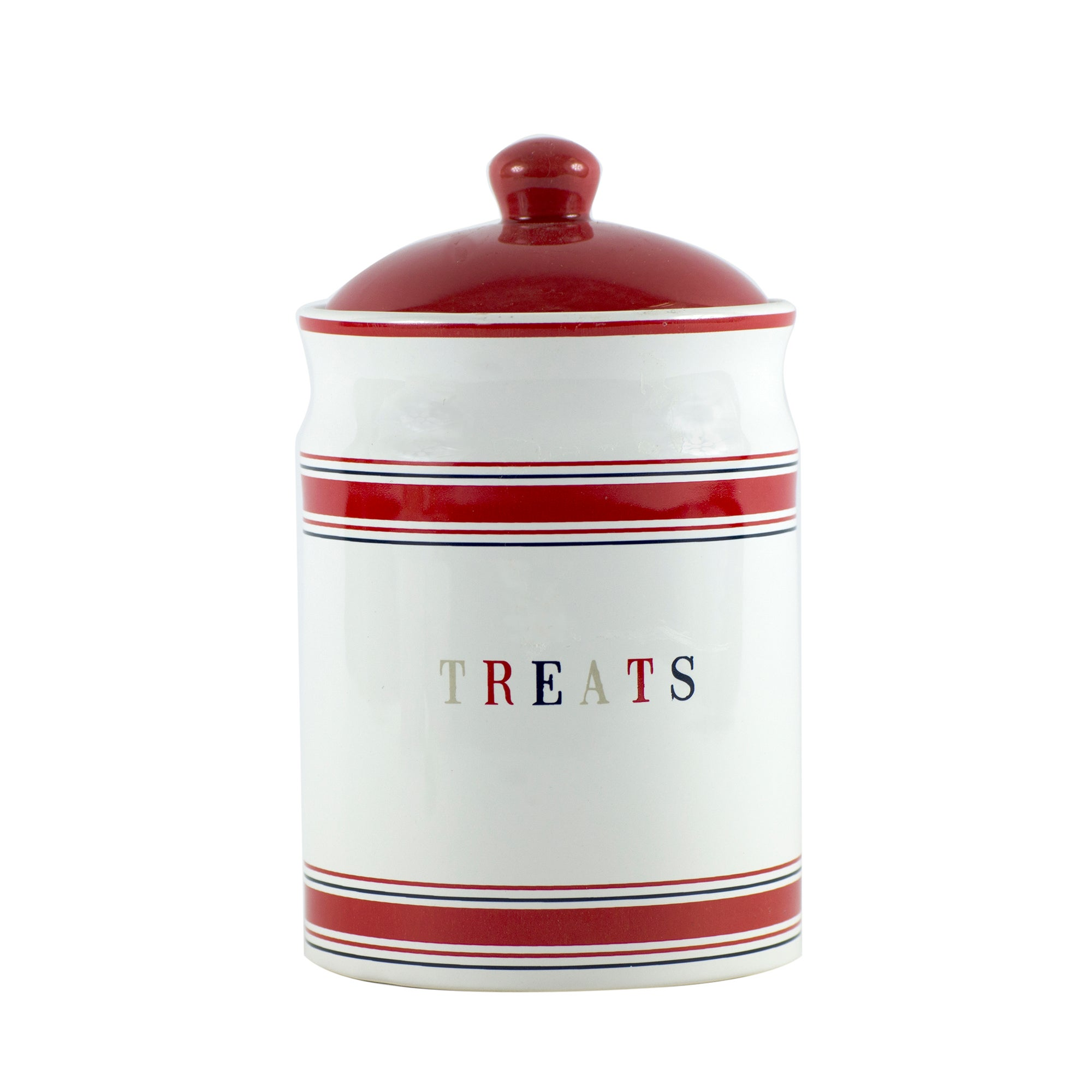 The Hamptons Collection Ceramic Pet Treat Jar