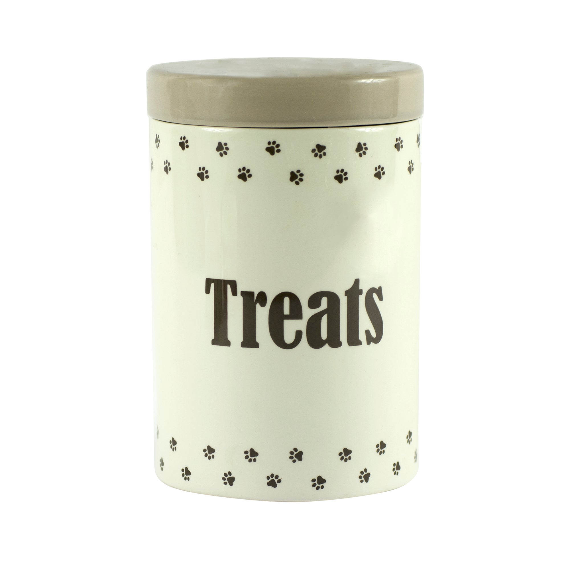 Paws Collection Ceramic Pet Treat Jar