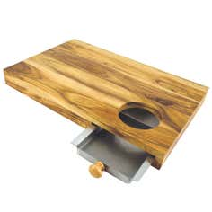 Acacia Chopping Board with Drawer