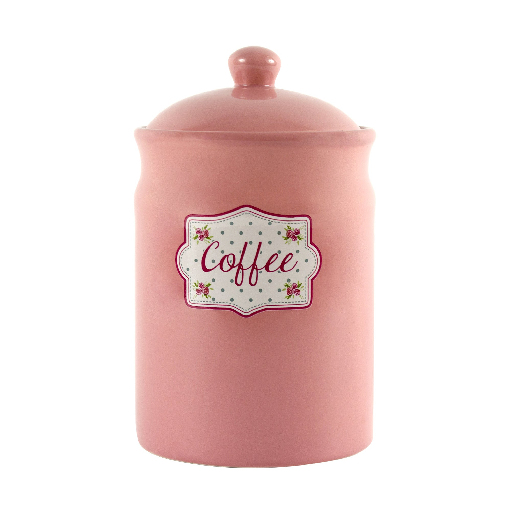 Candy Rose Collection Coffee Storage Canister