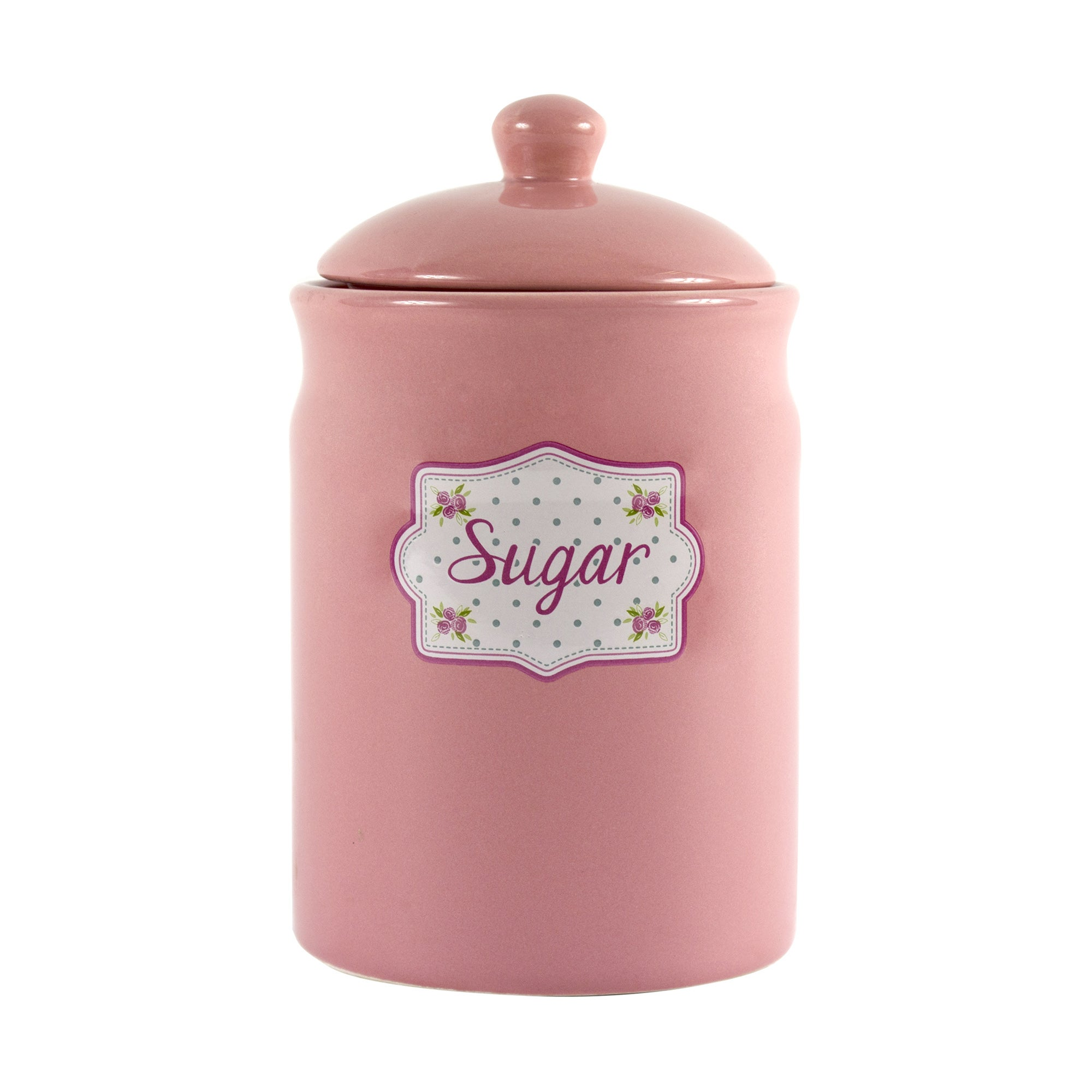Candy Rose Collection Sugar Storage Canister