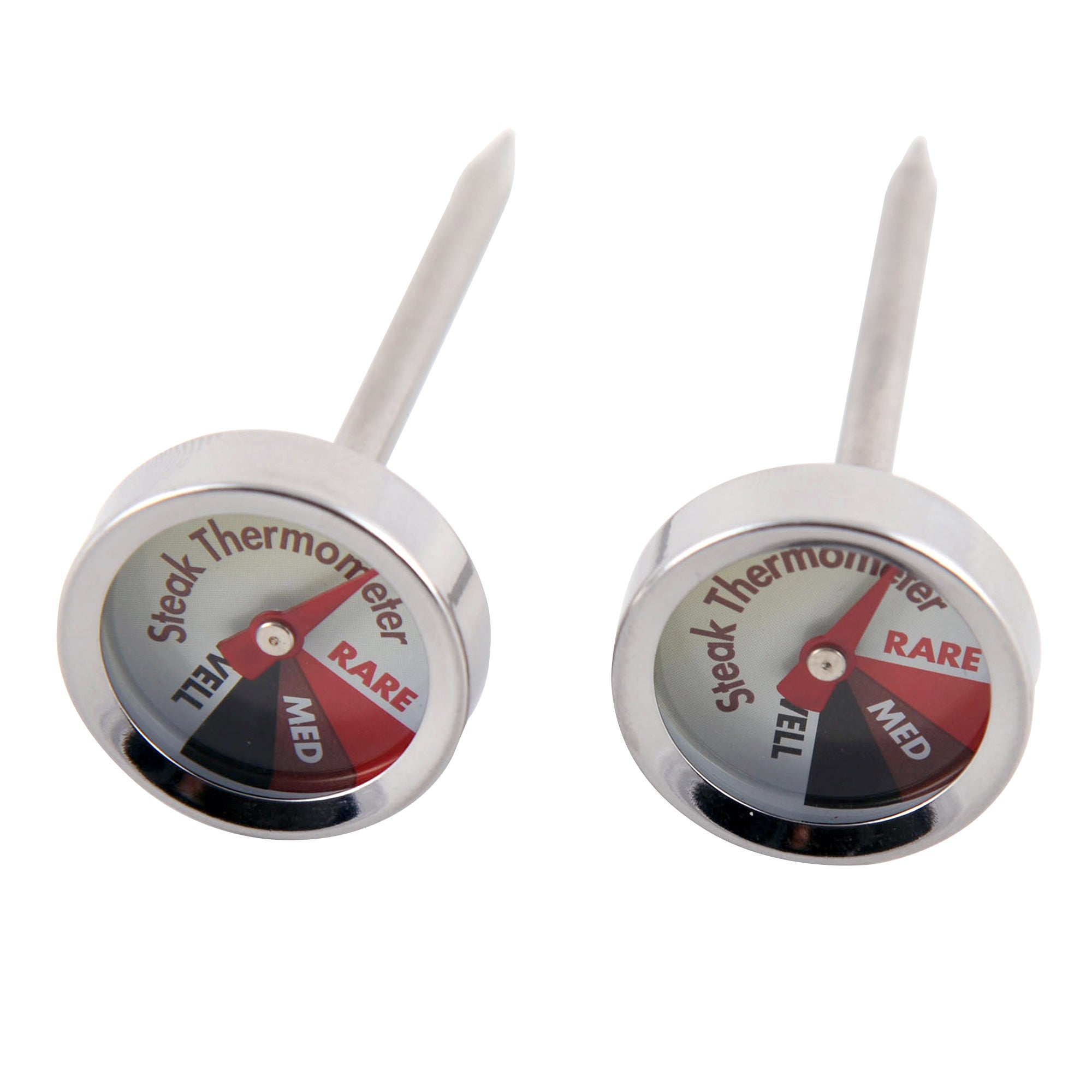 Set of Two Steak Thermometers