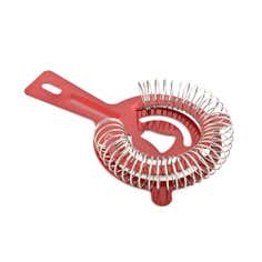 Red Stainless Steel Strainer