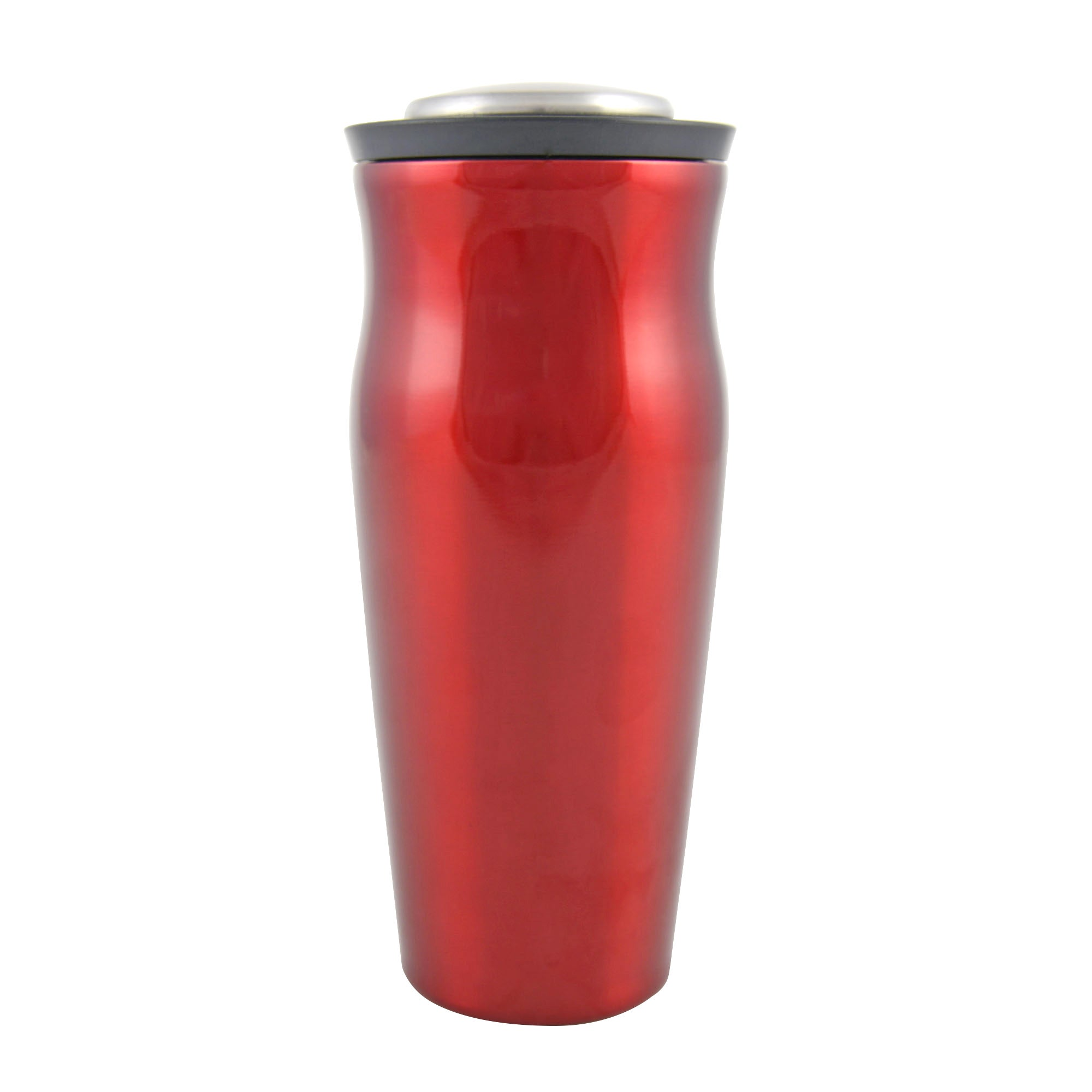 Red Press and Pour Cocktail Shaker