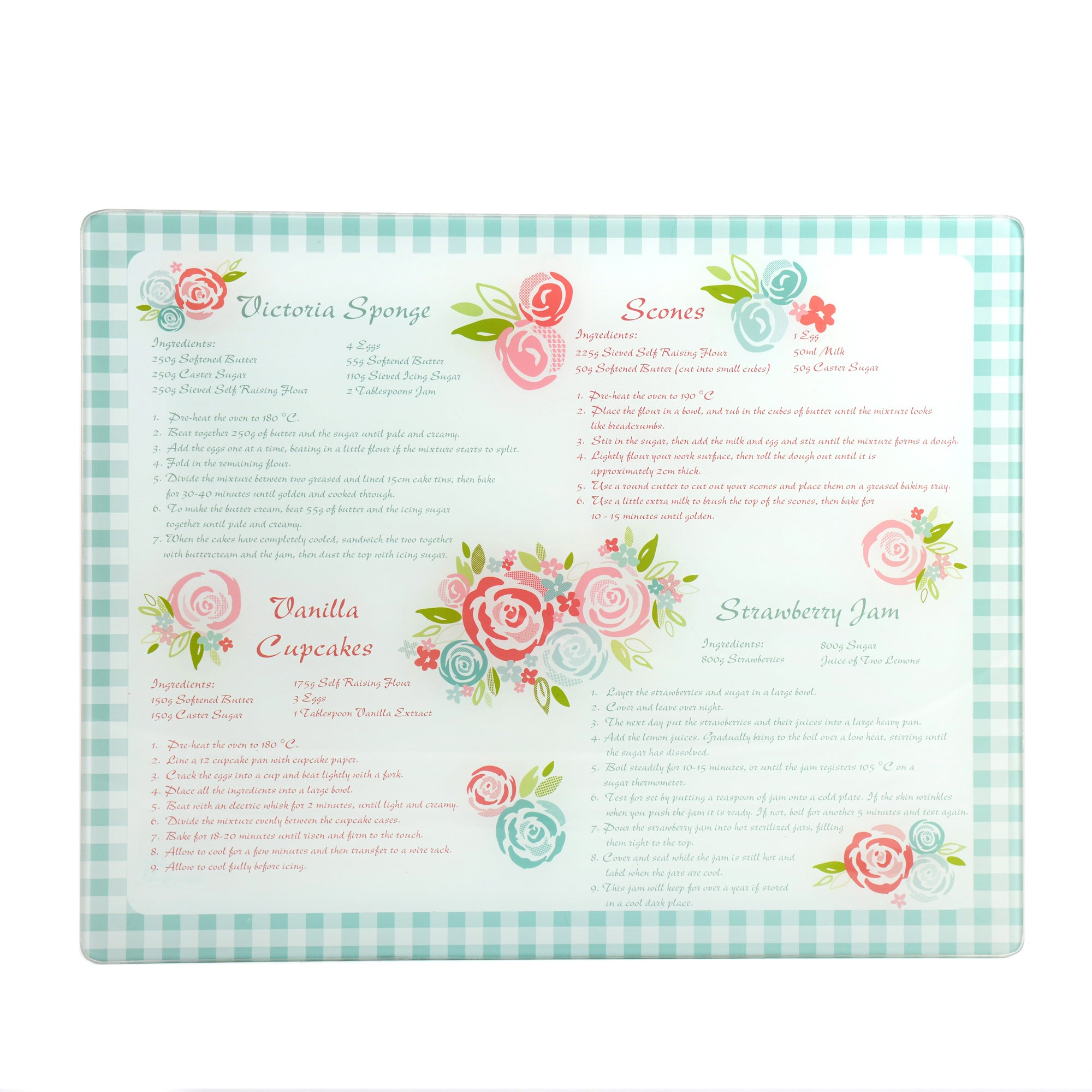 Candy Rose Baking Board