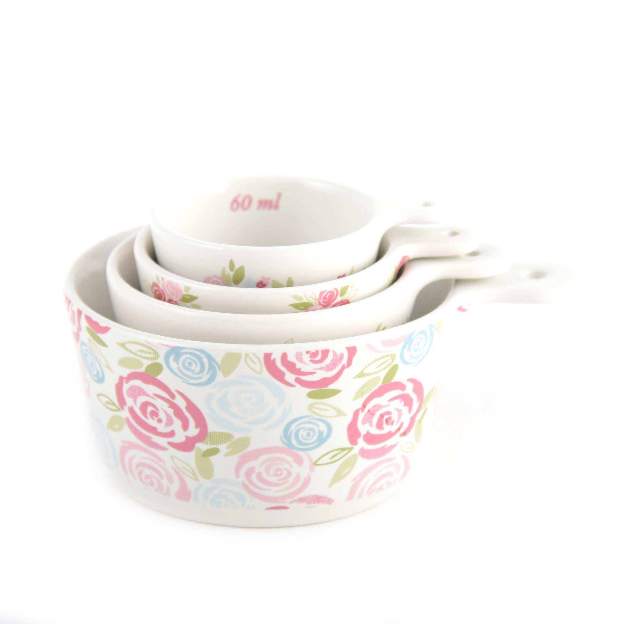 Candy Rose Collection Measuring Cups