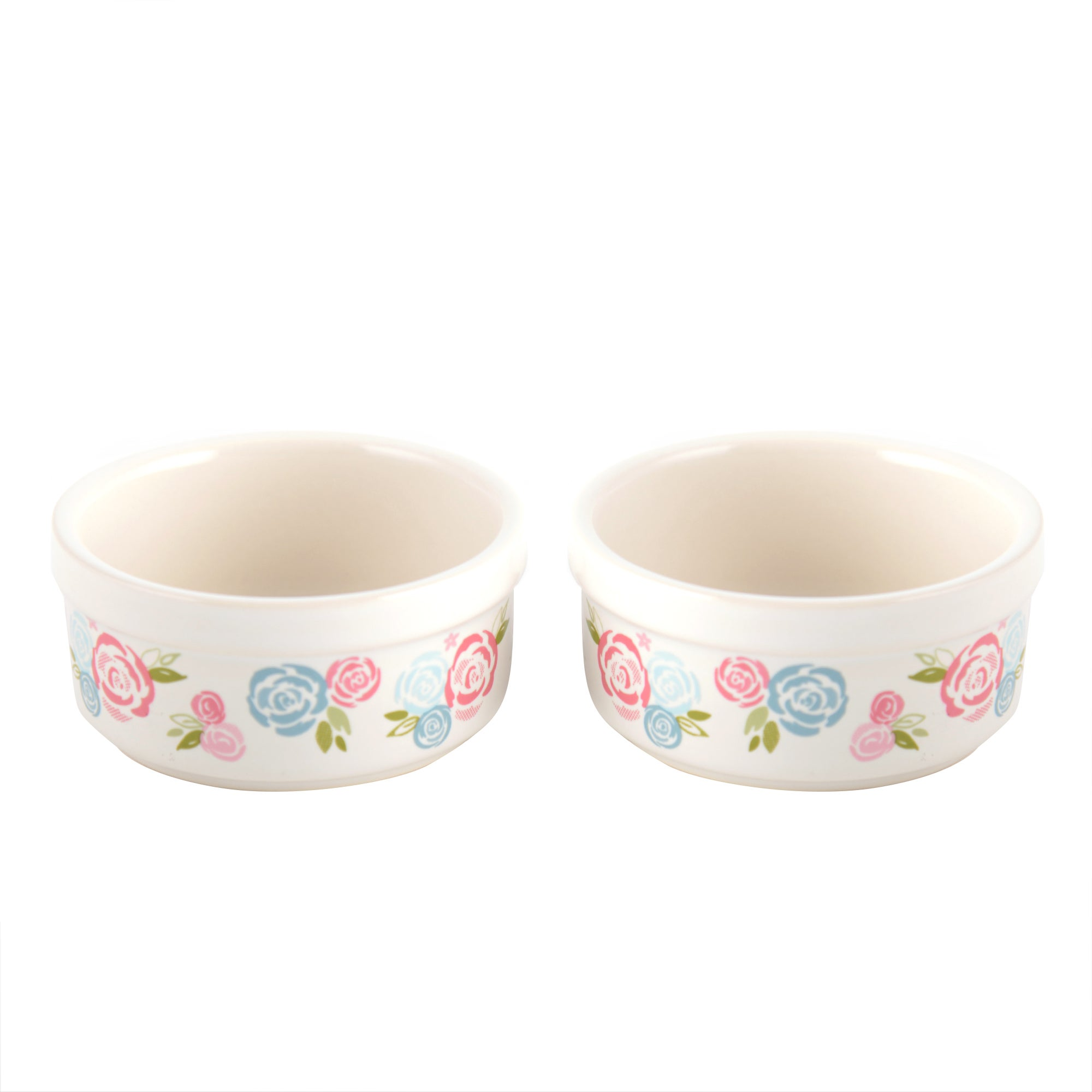 Candy Rose Collection Set of 2 Ramekins
