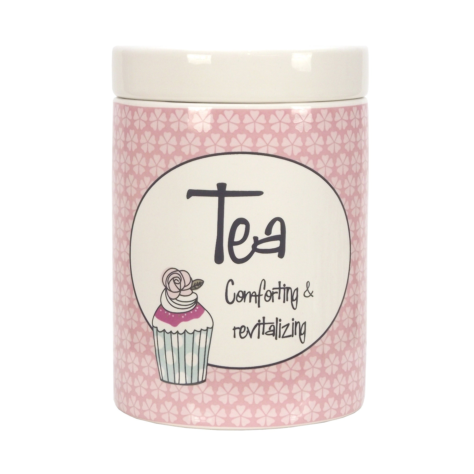 Vintage Cakes Collection Tea Canister