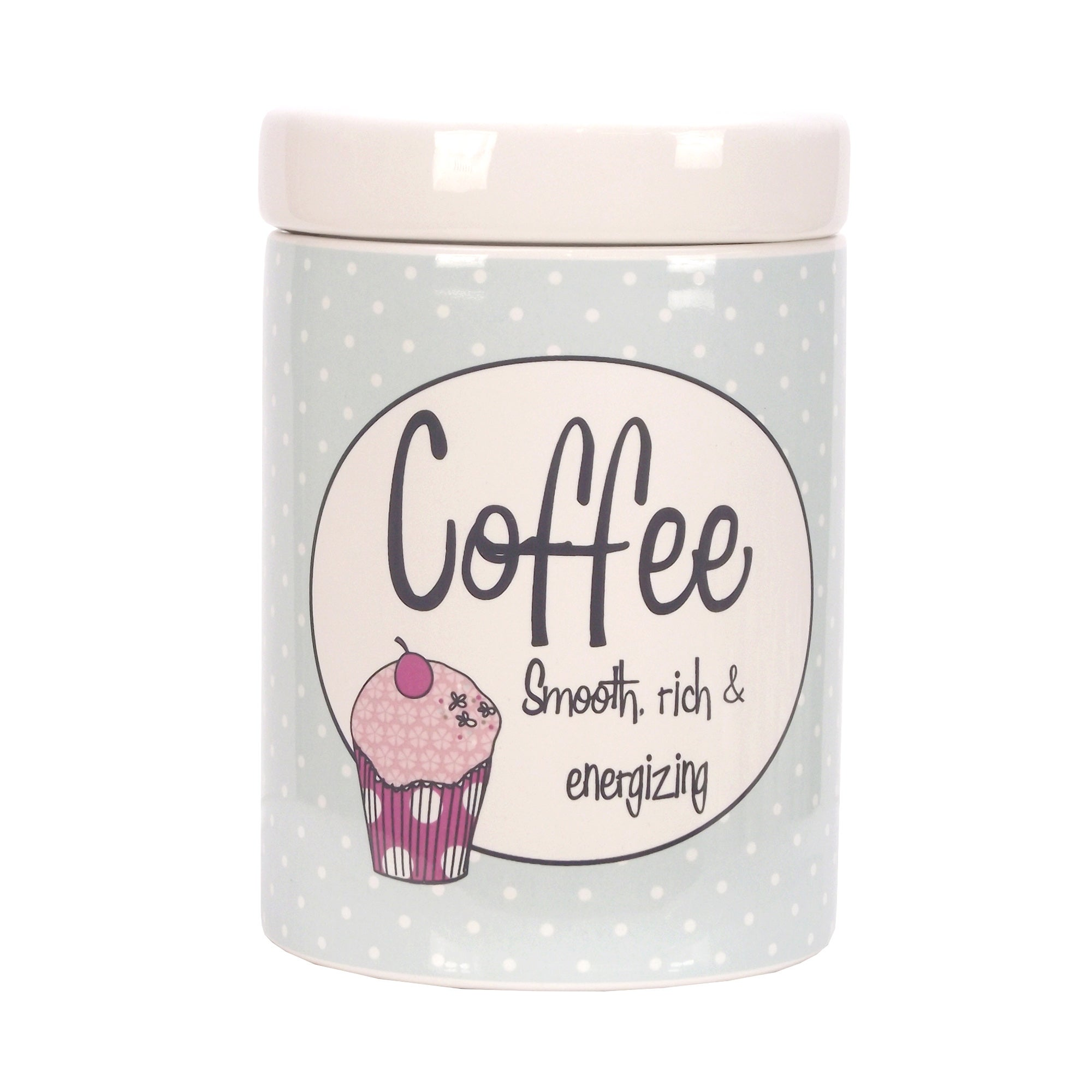 Vintage Cakes Collection Coffee Canister