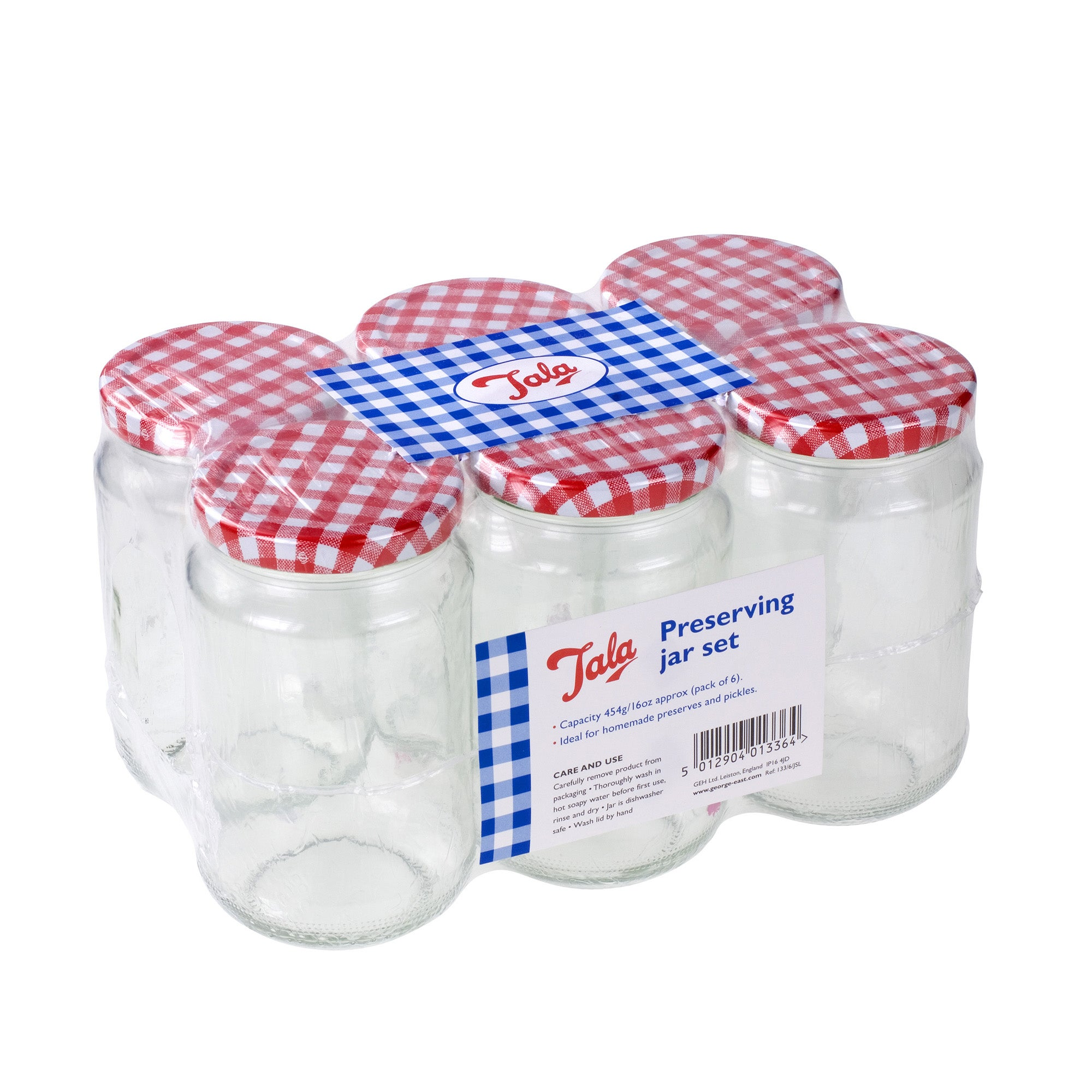 Tala Set of 6 Glass Preserving Jars