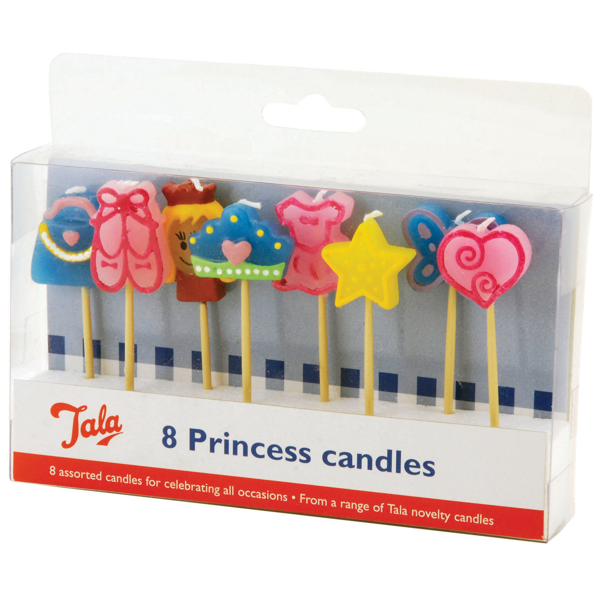 Tala Set of 8 Princess Candles
