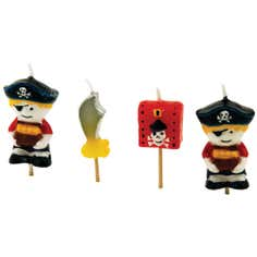 Tala Set of 4 Pirate Candles
