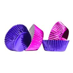 Pack of 60 Plum And Pink Medium Cupcake Cases