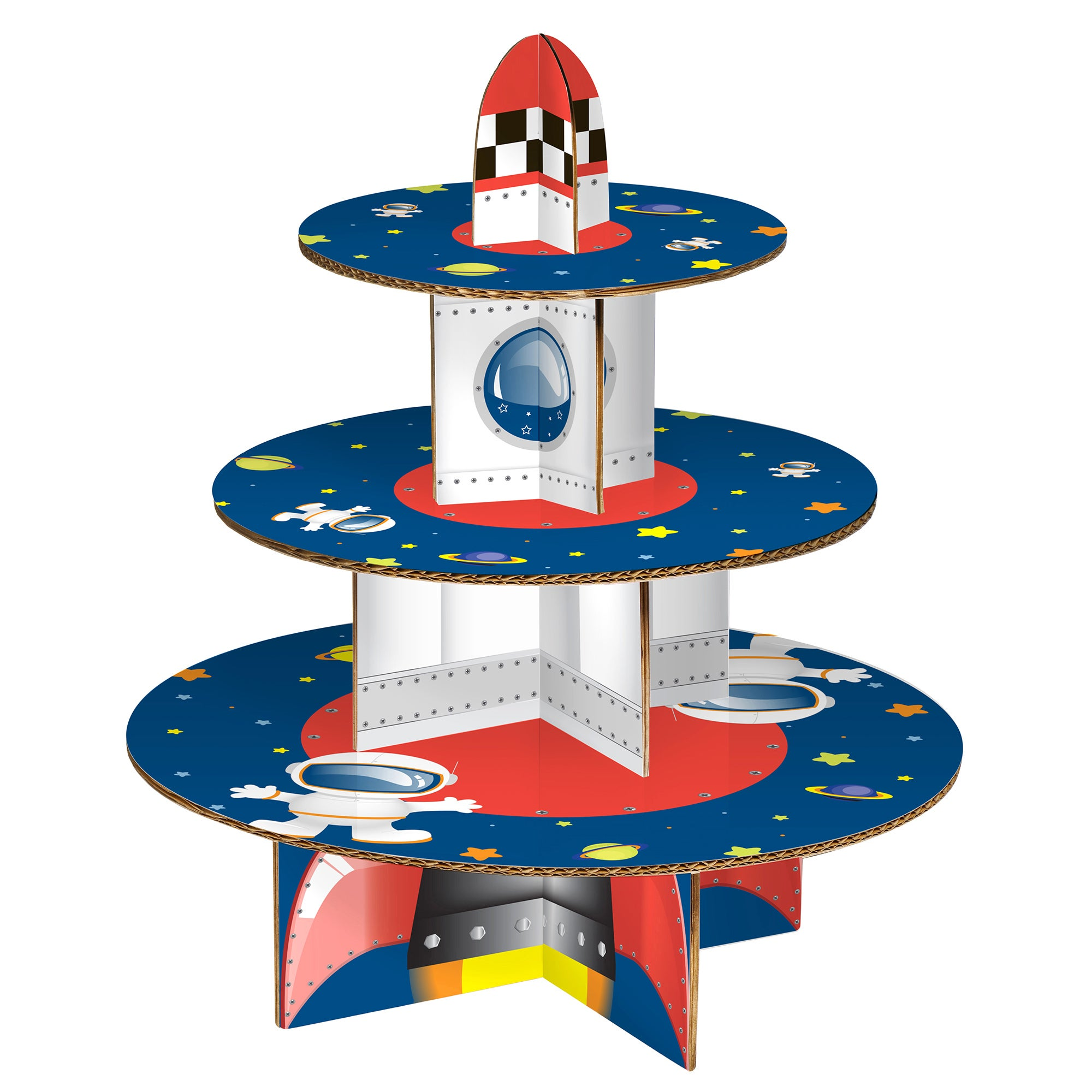 Kids Rocket Cake Stand