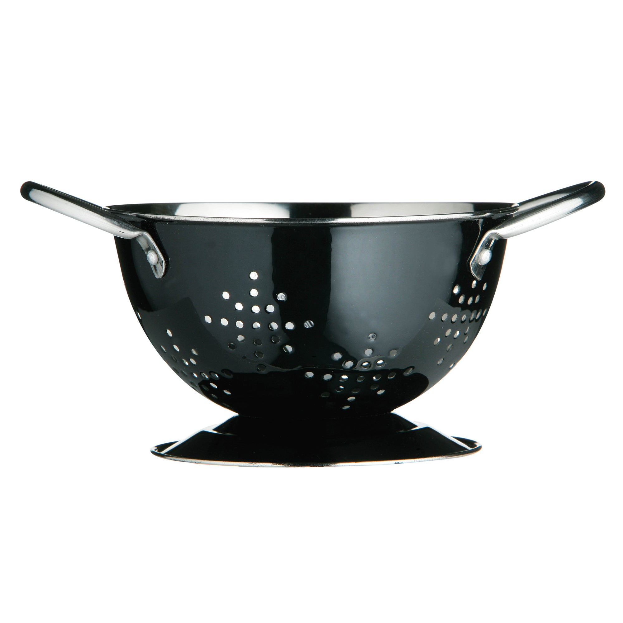 Black Spectrum Collection Mini Colander