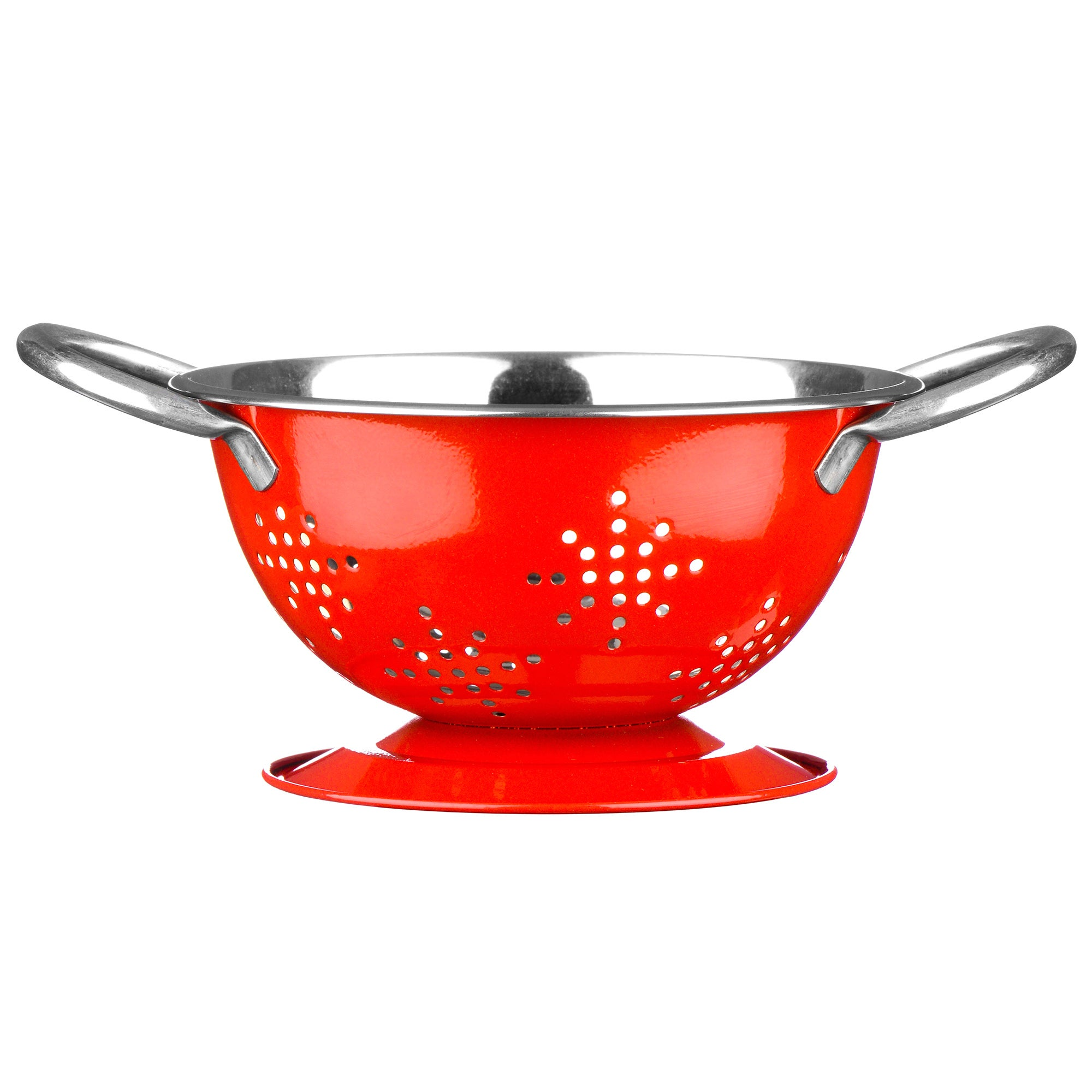 Red Spectrum Collection Mini Colander
