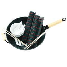 Chinese 11 Piece Wok Set