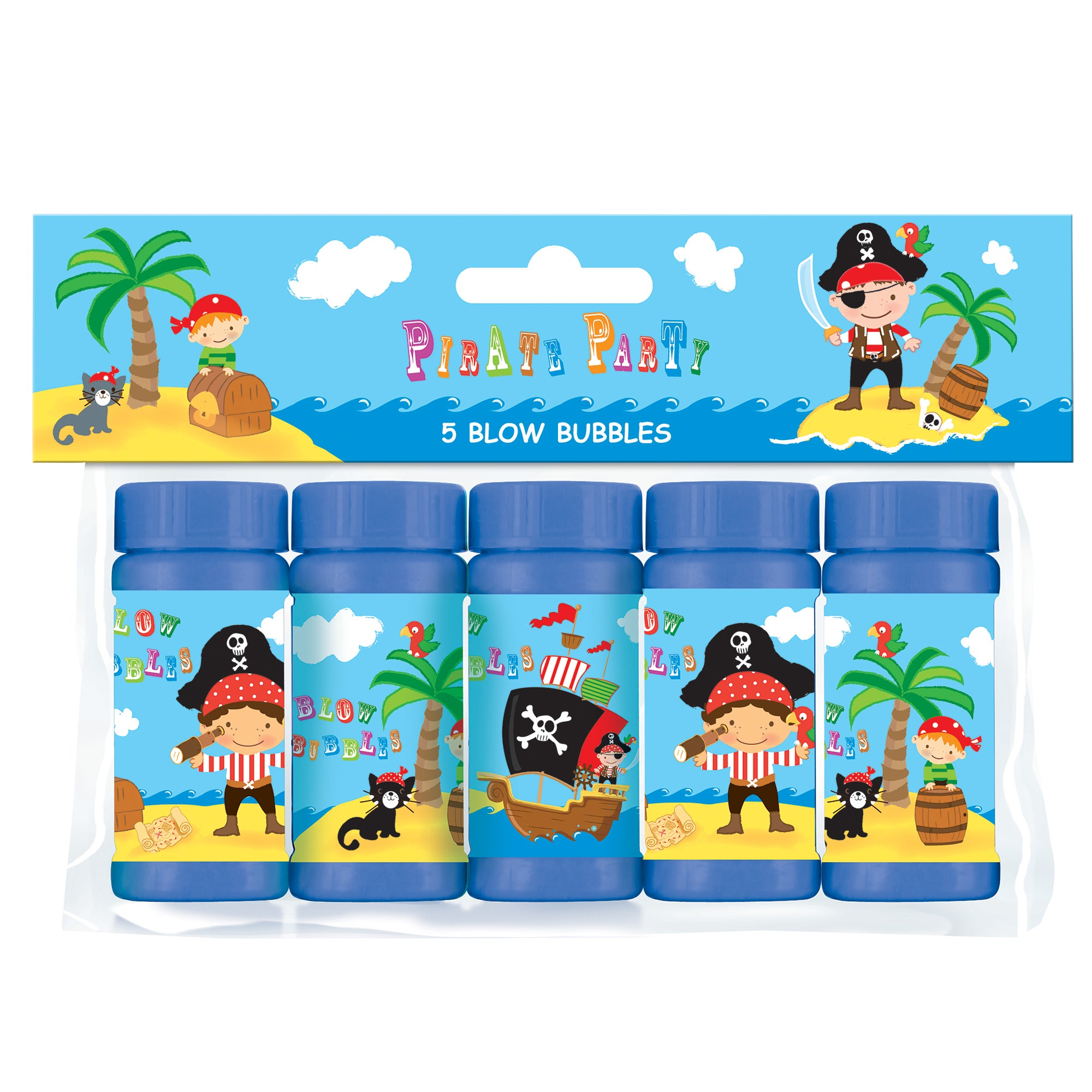 Pirate Party Blow Bubbles