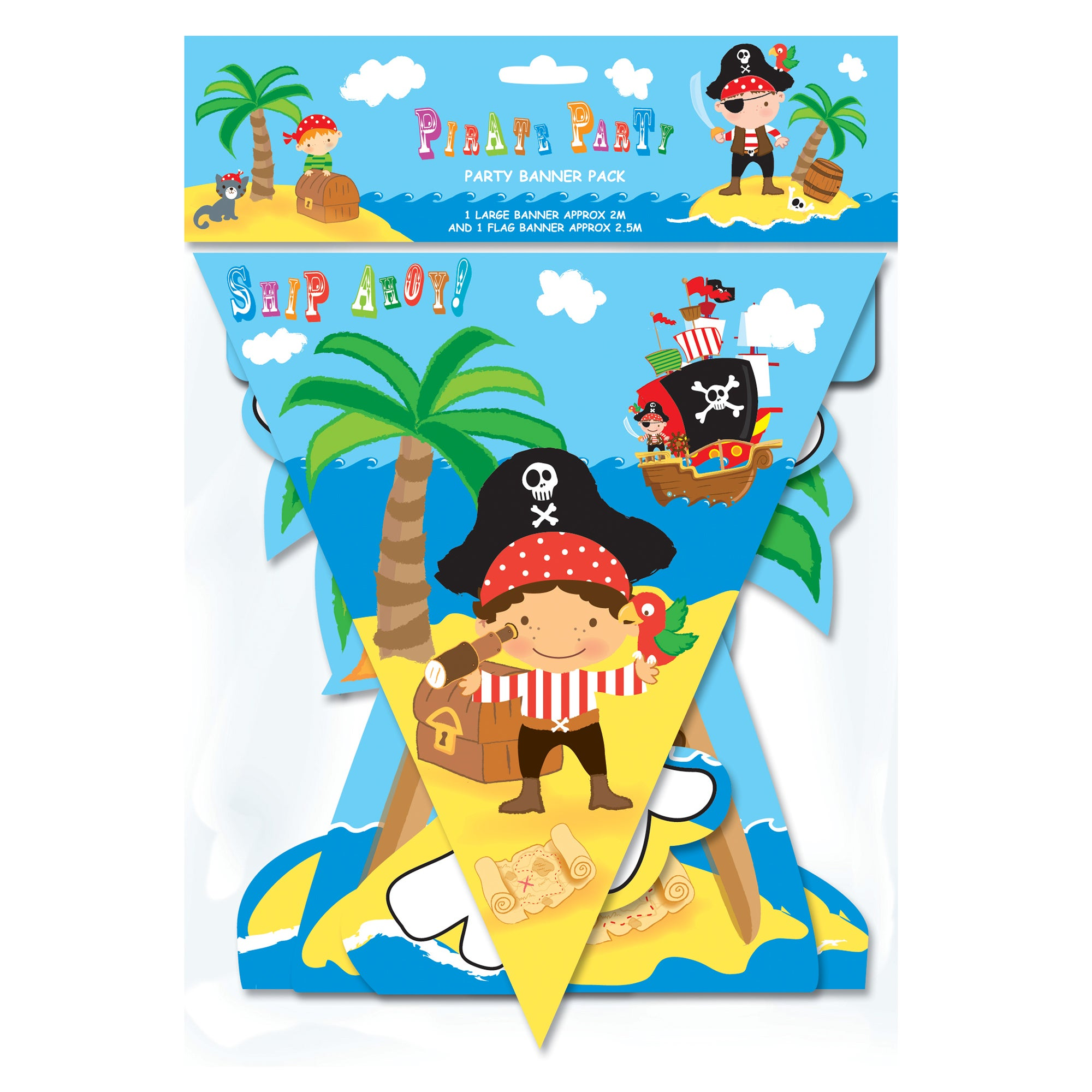 Pirate Party Banner Pack