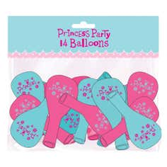 Princess Party Pack of 14 Balloons