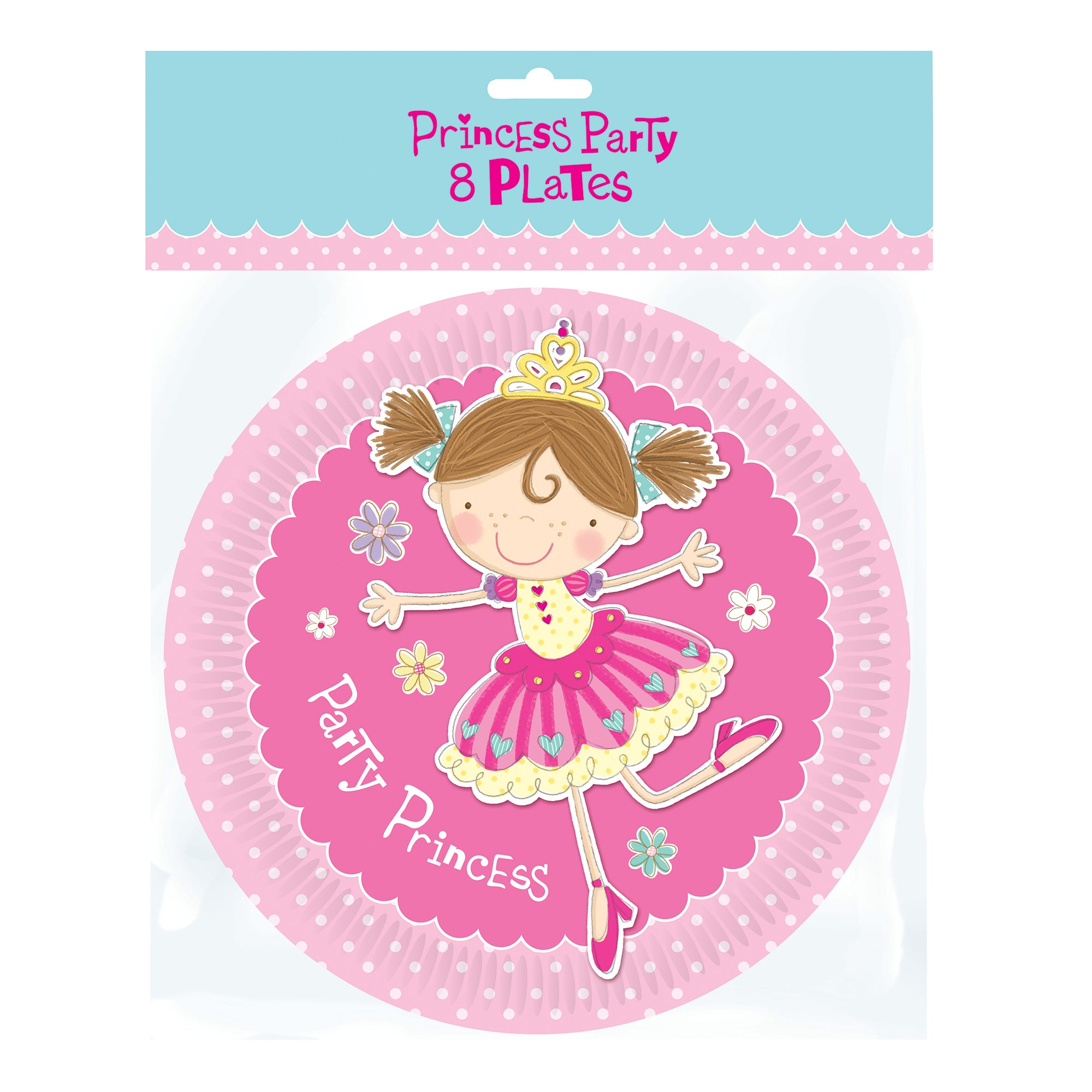 Princess Party Pack of 8 Plates