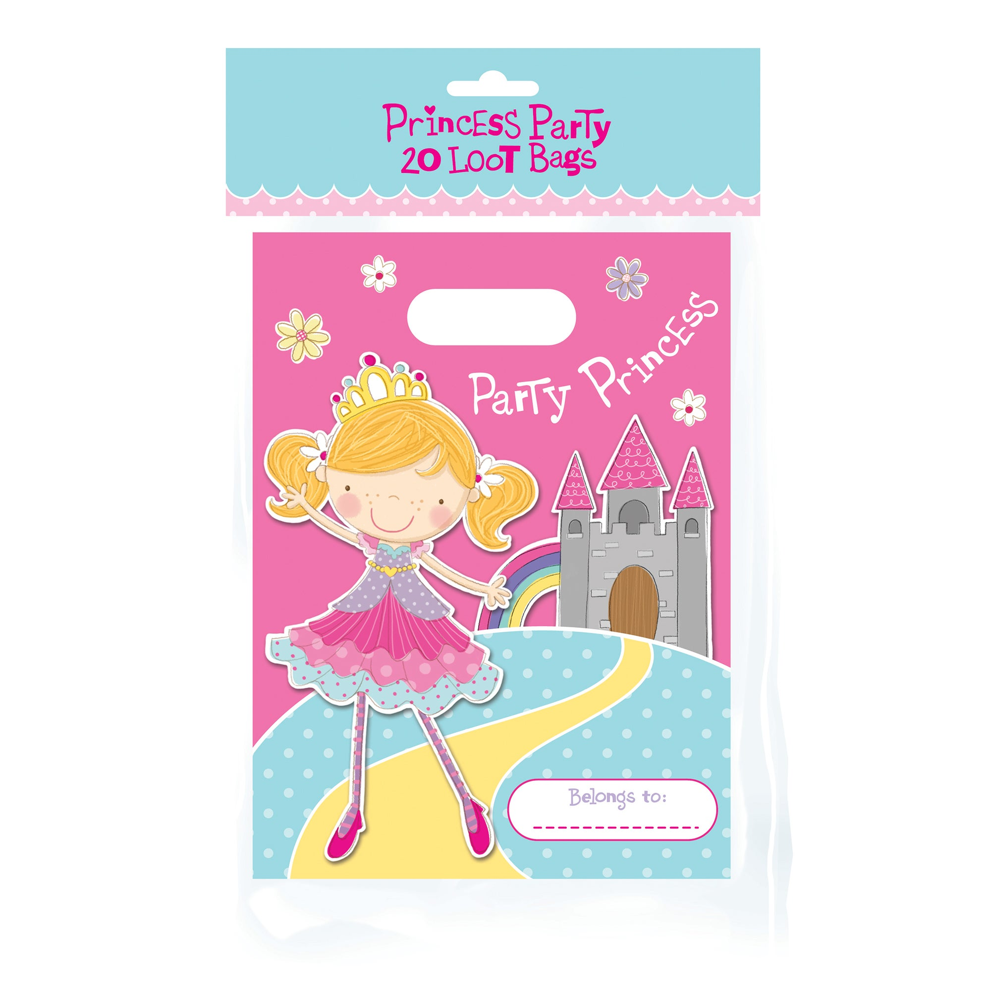 Princess Party Pack of 20 Loot Bags