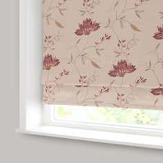 Red Amelia Blackout Roman Blind