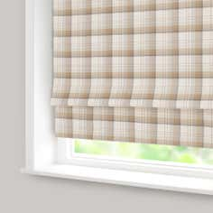 Ochre Balmoral Check Blackout Roman Blind