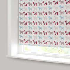 Scottie Dogs Blackout Roller Blind