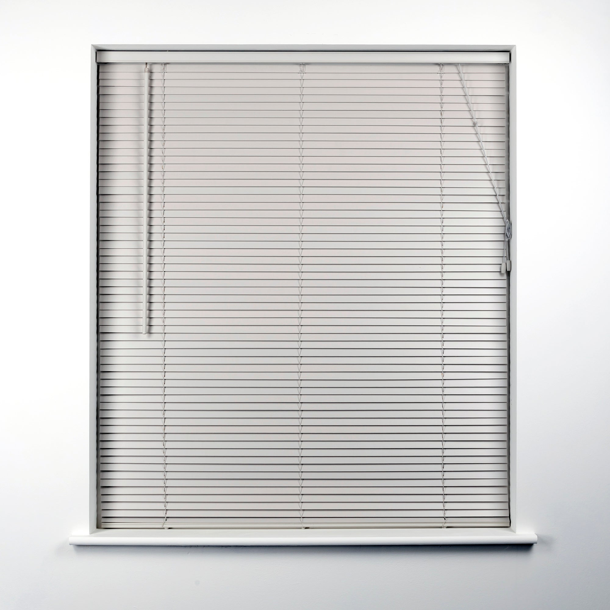 Dove Grey Hardwood Venetian Blind