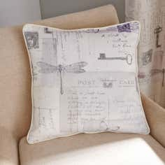 Mauve Felicity Filled Cushion