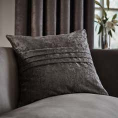 Grey Chenille Collection Cushion
