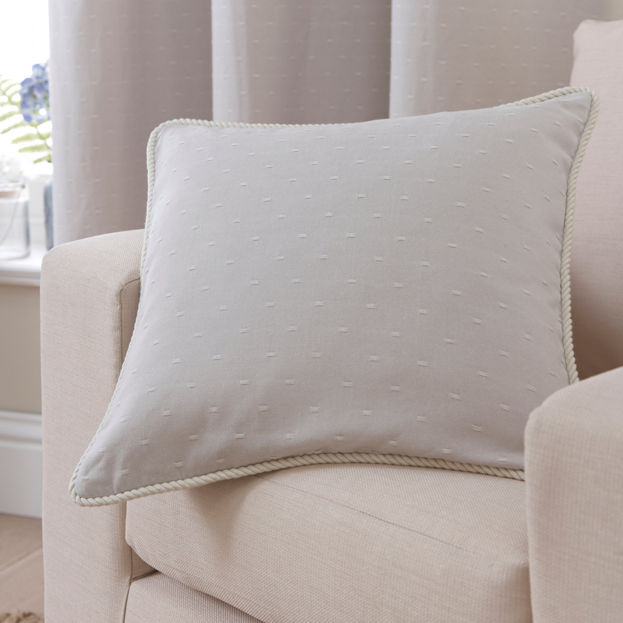 Natural Salcombe Collection Cushion