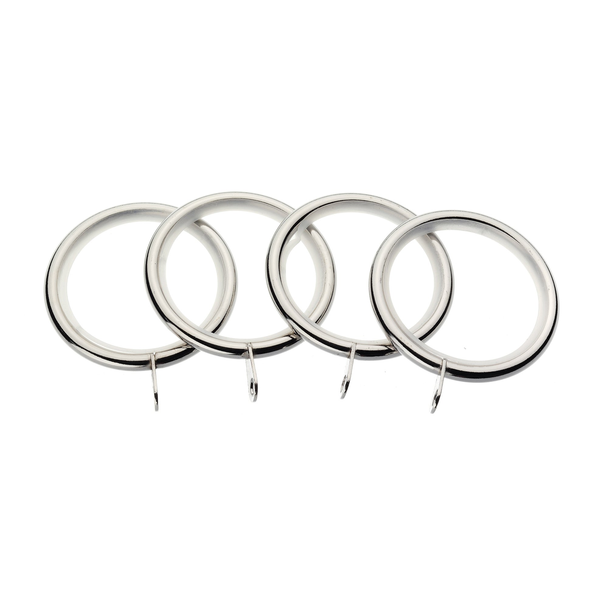 Hotel Mirage Collection Pack of 4 Curtain Rings