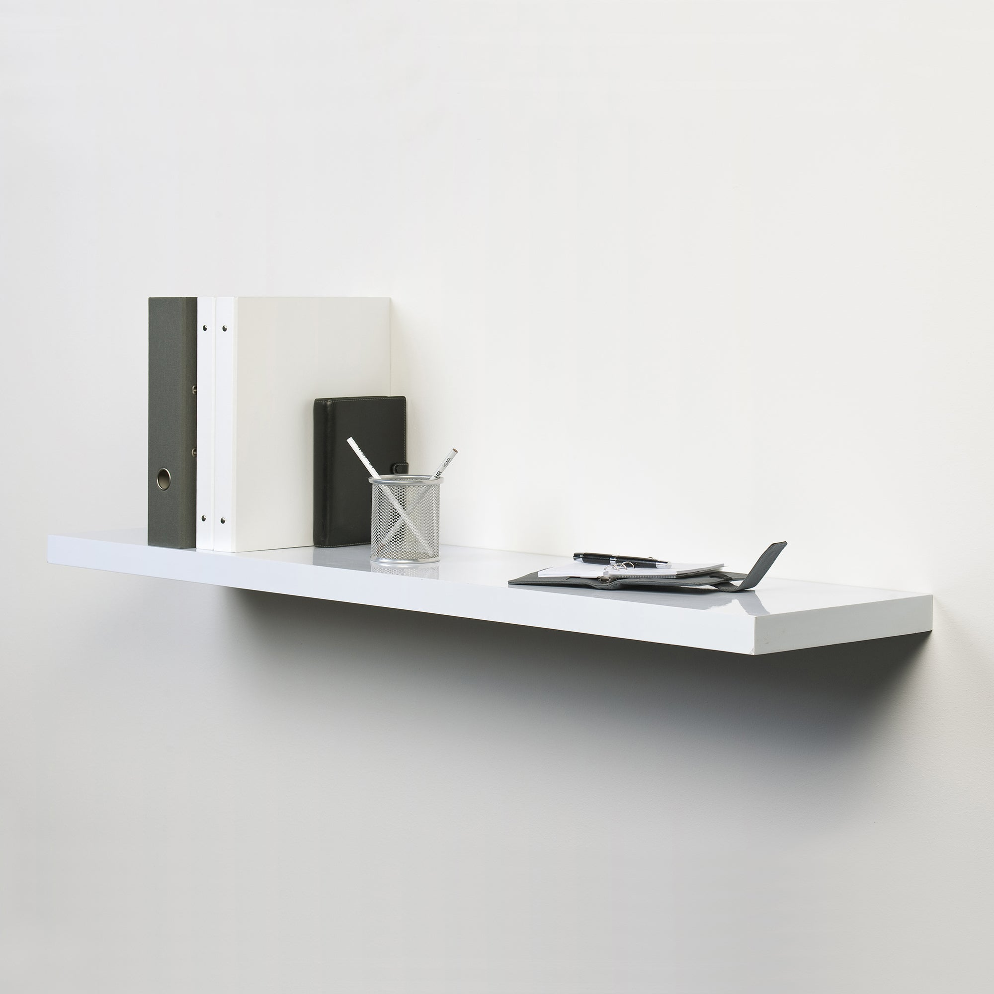 White Gloss Floating Shelf