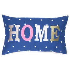 Navy Country Spot Collection Boudoir Cushion