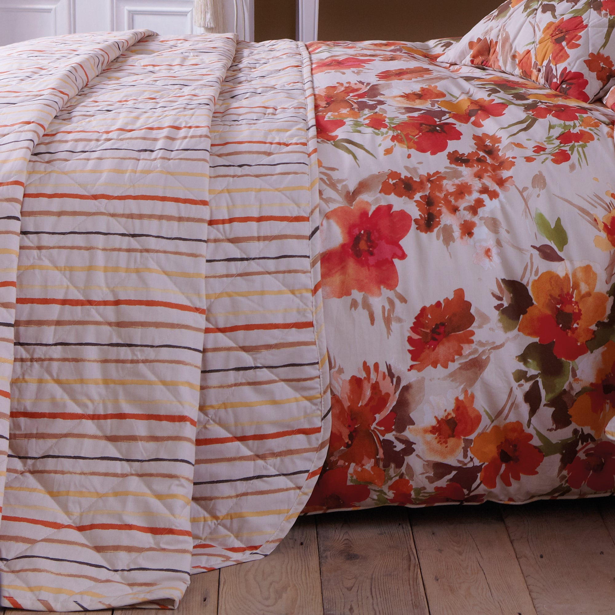 Autumn Floral Collection Bedspread