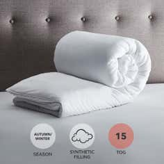 Fogarty Soft Touch 15 Tog Duvet