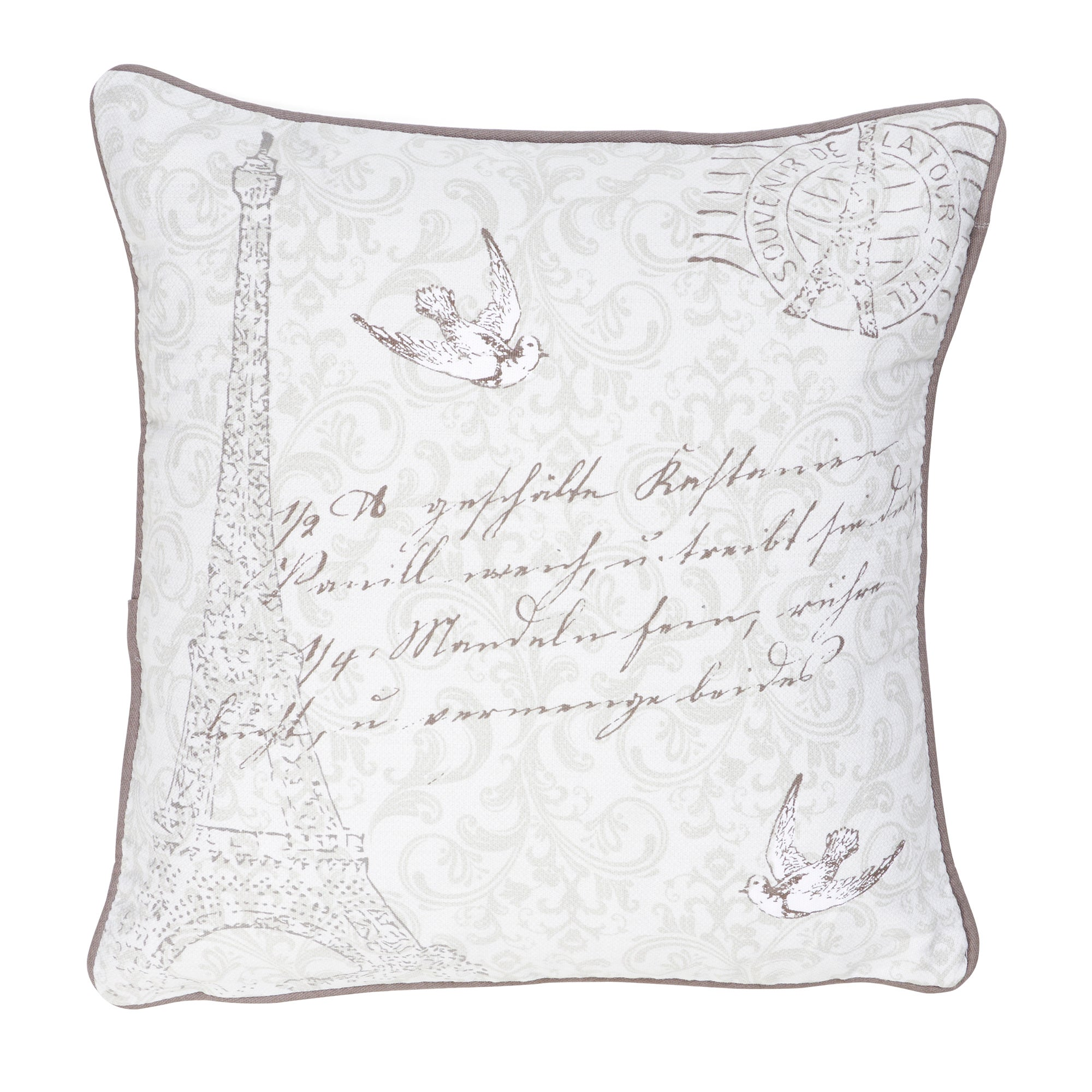 Eiffel Printed Cushion
