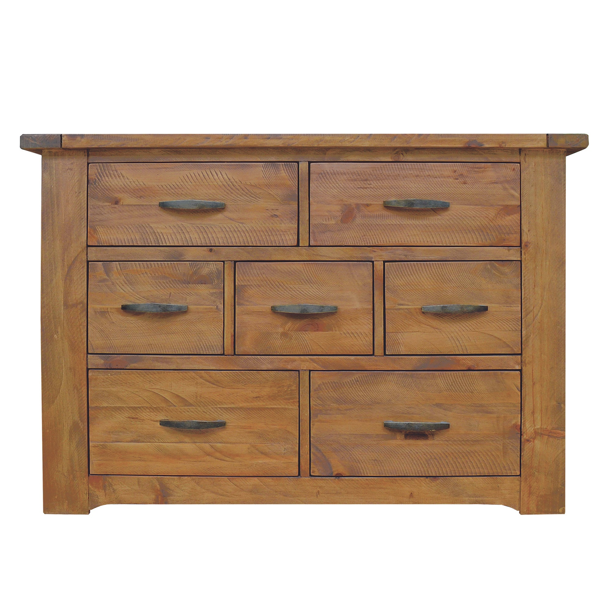 Loxley Pine Wide Chest