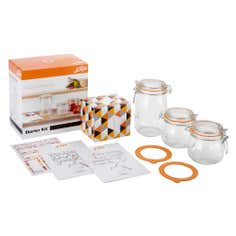 Le Parfait Preserving Jars Starter Kit