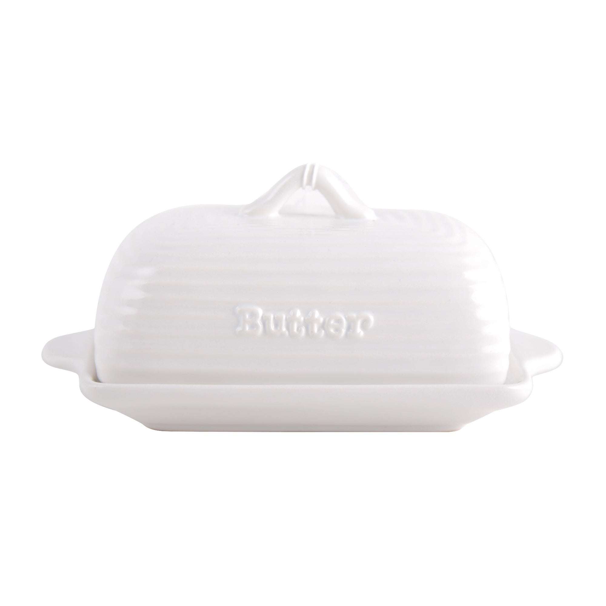 Chalk Cottage Collection Butter Dish