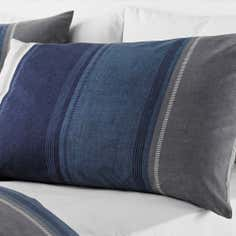 Blue Finley Collection Housewife Pillowcase