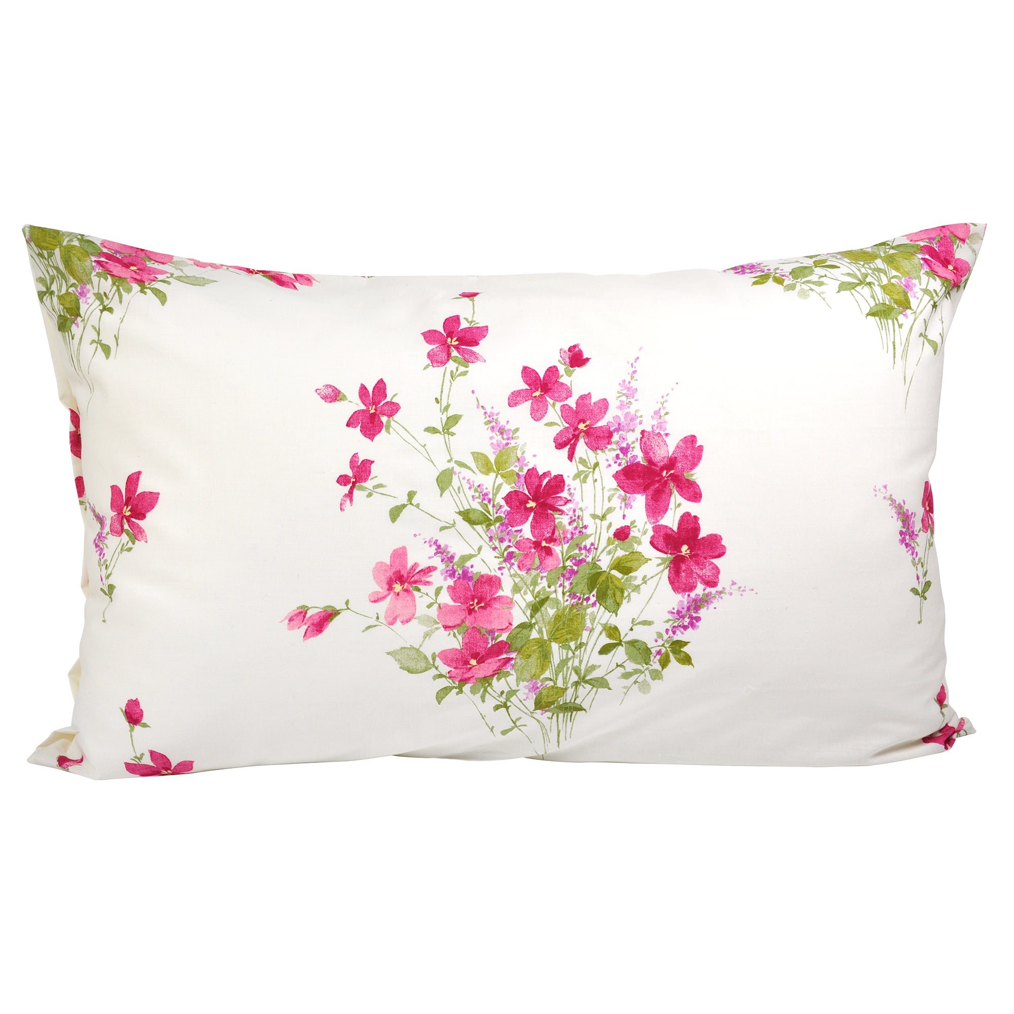 Pink Delphine Collection Housewife Pillowcase