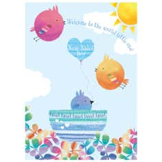 Tweeters Little Baby Boy Card