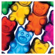 Gummy Bears Greetings Card