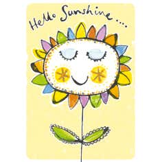 Hello Sunshine Greetings Card