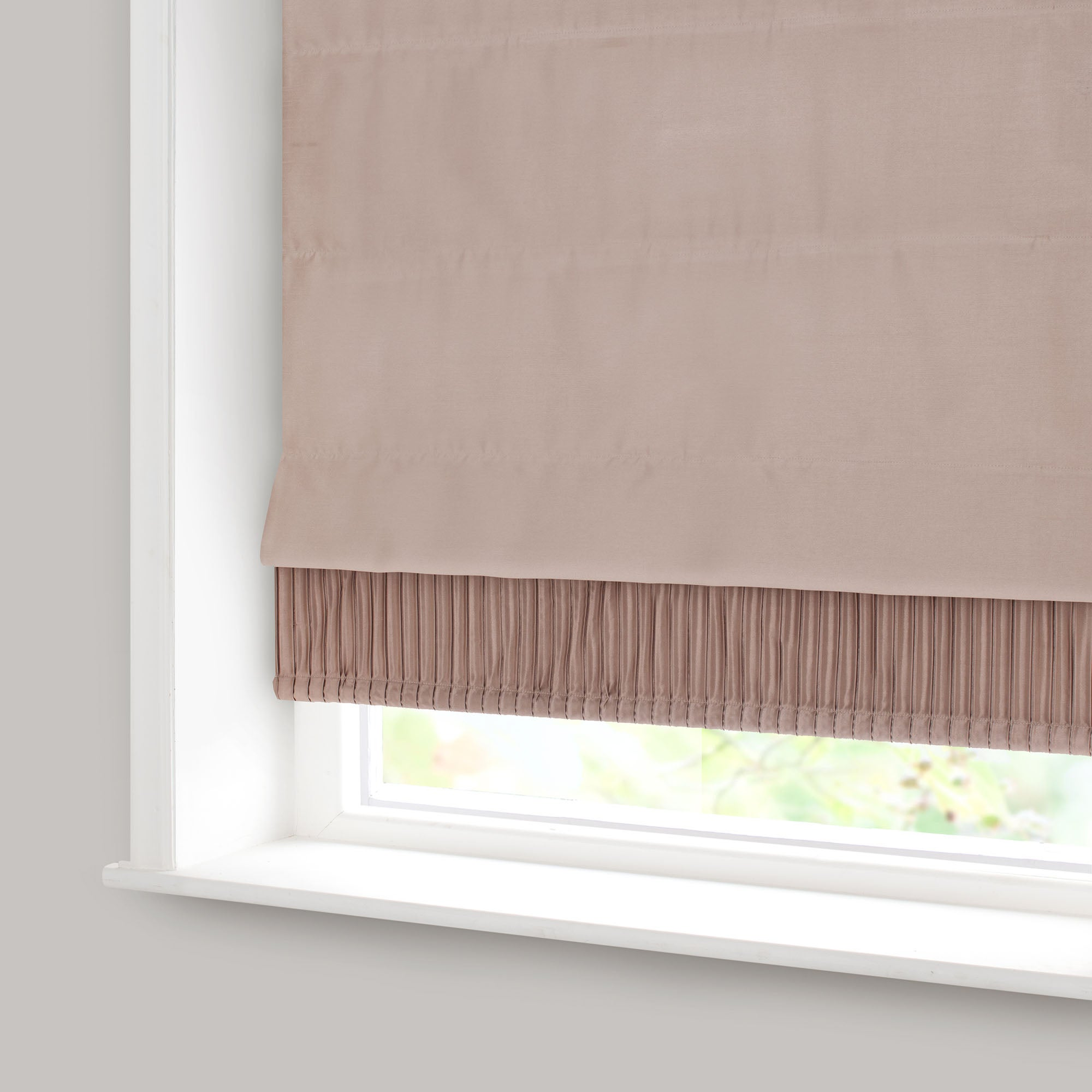 Taupe Montreal Blackout Roman Blind