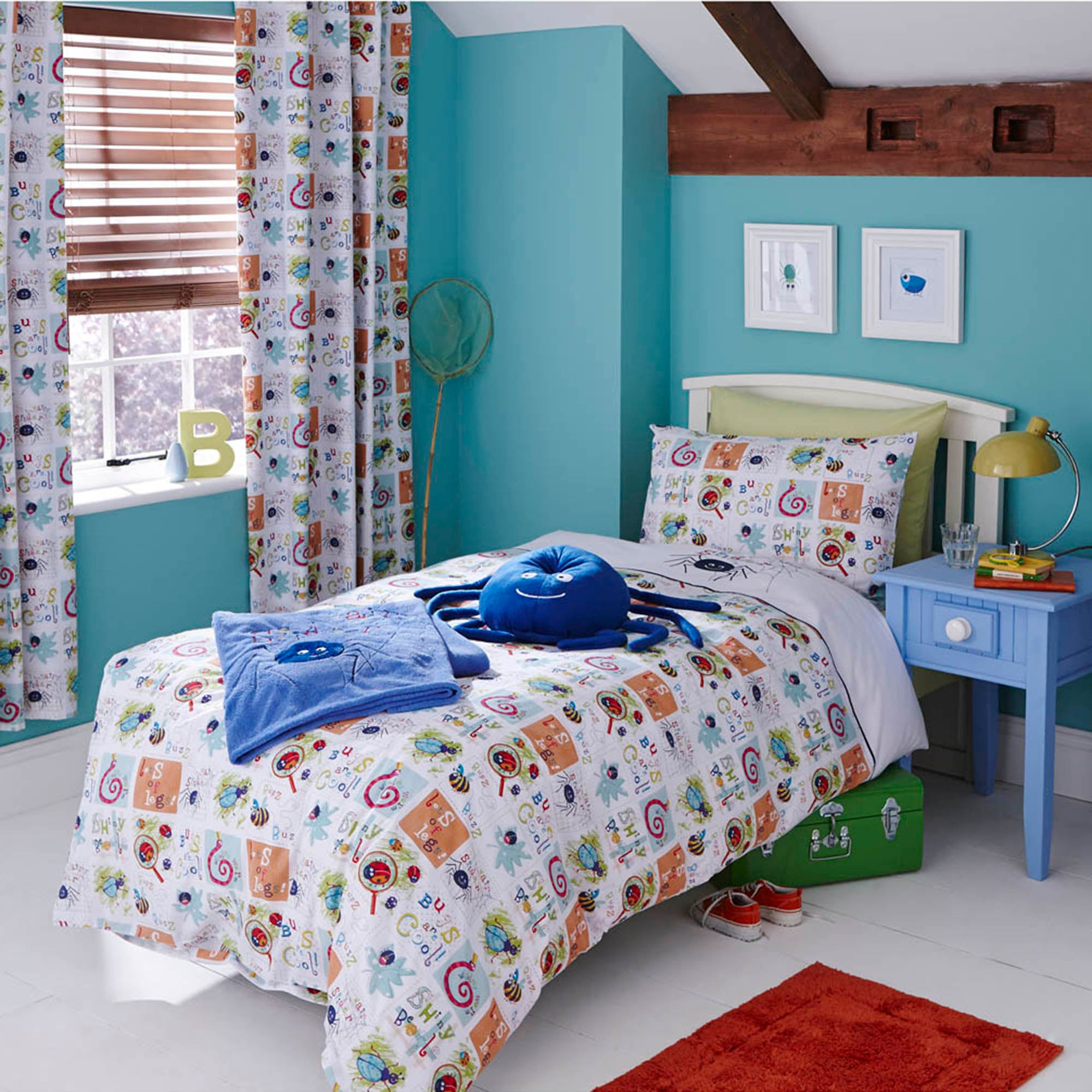 Kids Bugs Collection Duvet Cover Set