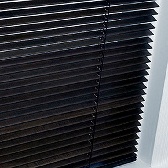 Black Hardwood Blind
